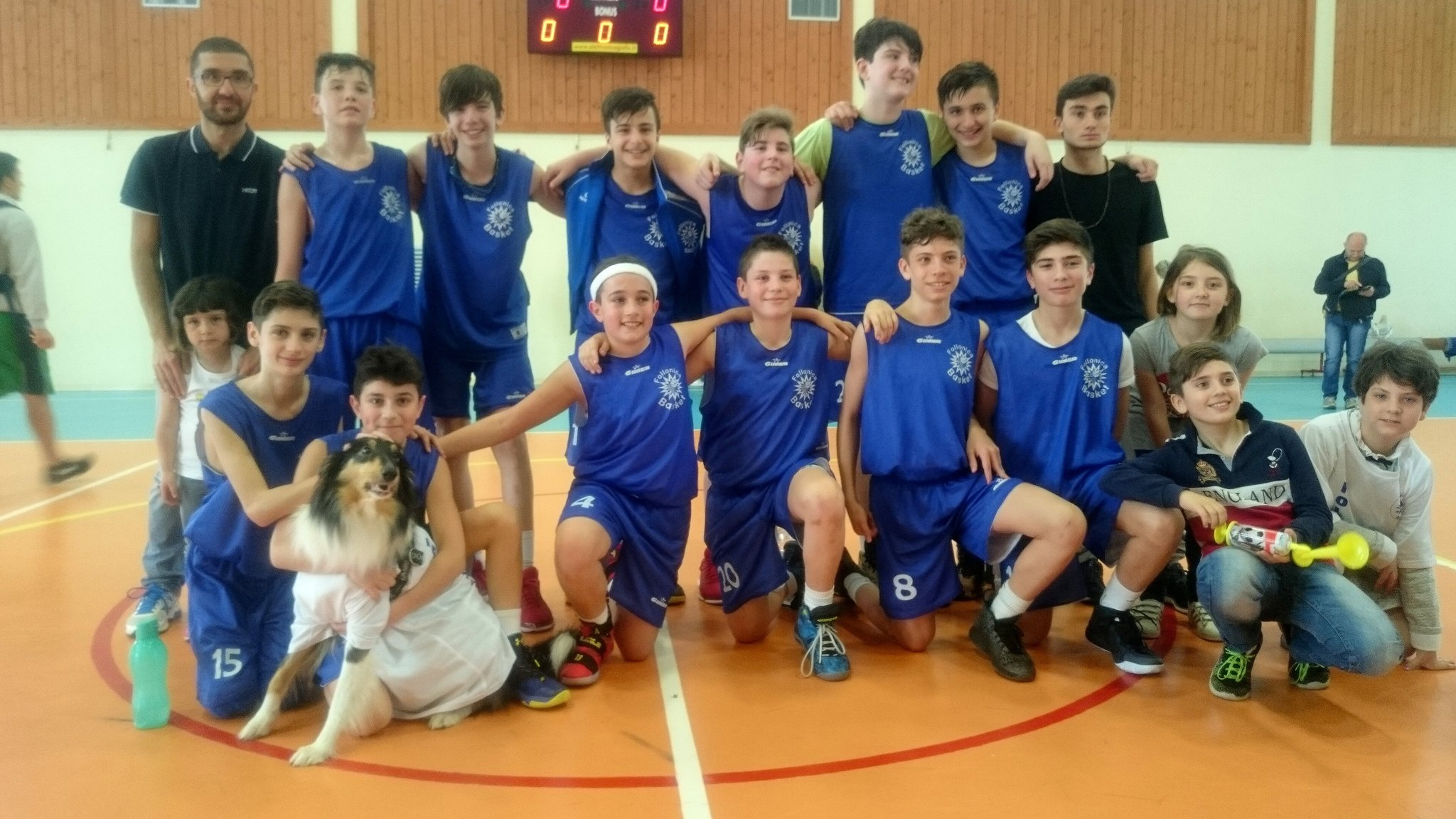 Il bellissimo gruppo Under 13 protagonista all'Eurocamp 2017