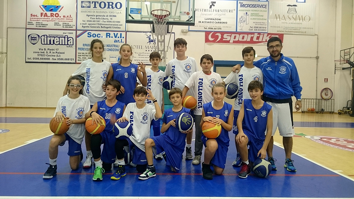 U13 2016 Follonica Basket