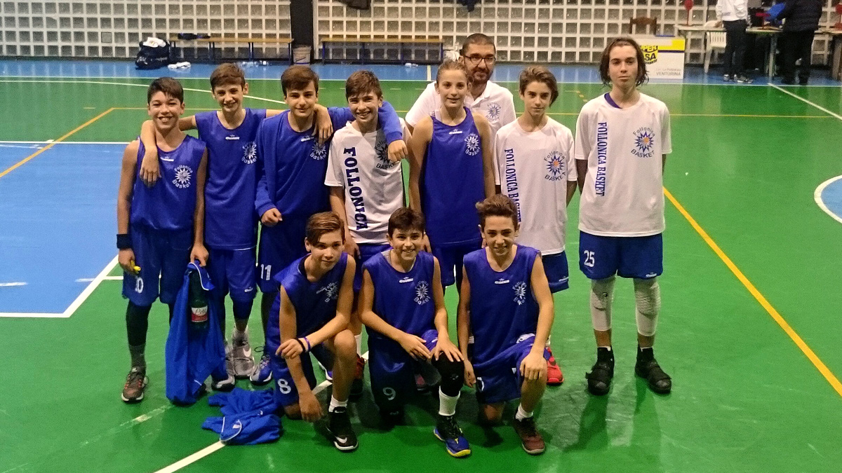 U14 2016/17 Follonica Basket