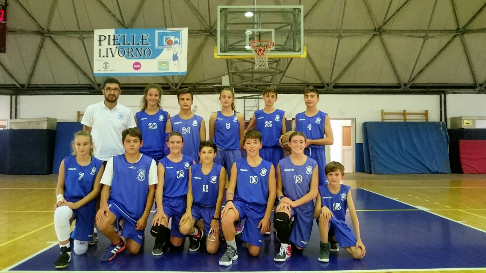 Under 14 2017/18 - ASD Follonica Basket