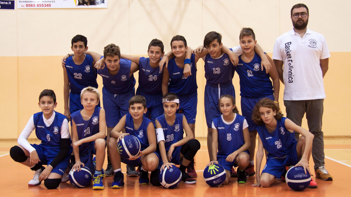 Under 13 2018/19 - Follonica Basket