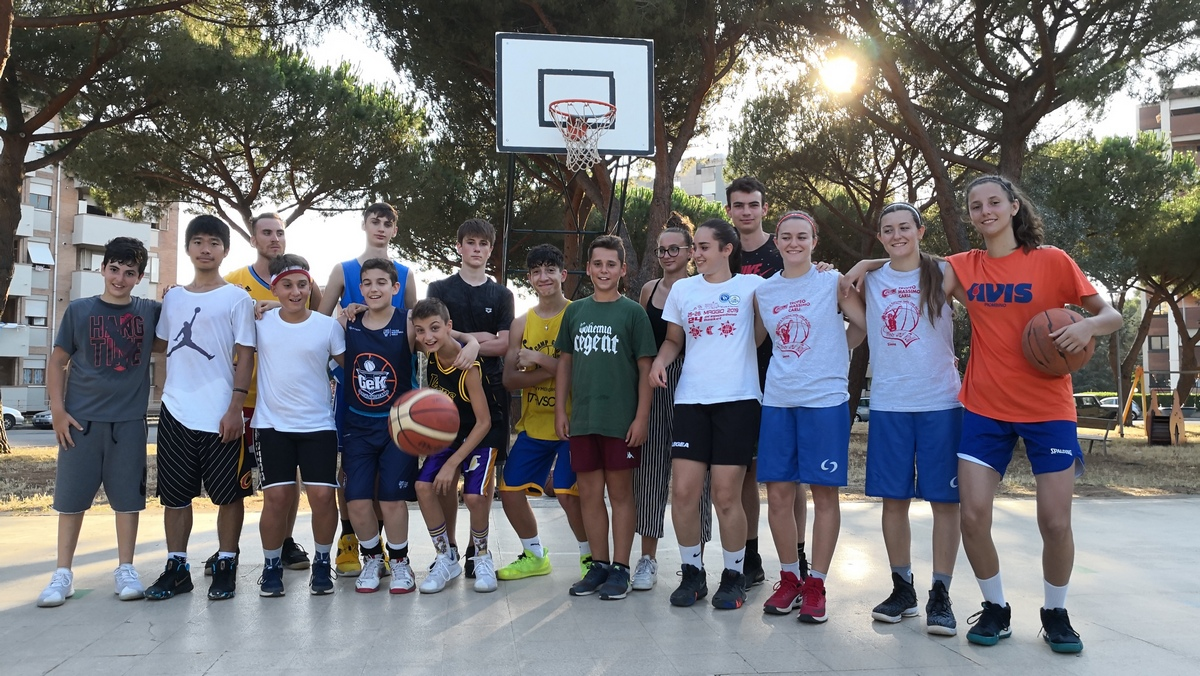 Campino 167 Ovest - Estate 2019; ASD Follonica Basket